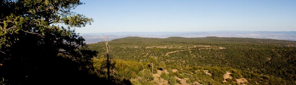 Agua Fria River Basin from Mt. Union