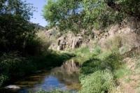 A Beautiful Desert Stream Runs Through the Heart of Dewey-Humboldt, Arizona.