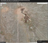 """A highly degraded allotment in OR that BLM records as """"All Standards Met"""" (Photo from PEER.org."""