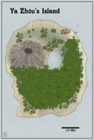 Zhous Island 3x4 and one half