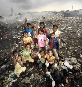 children-garbage-dump